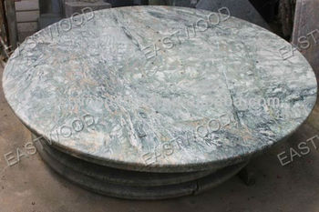Colored Granite And Marble Round Table Top