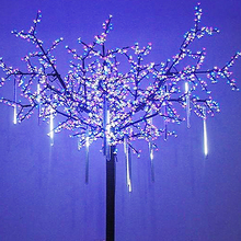 Waterproof LED Meteor Shower Rain Light Party Decoration