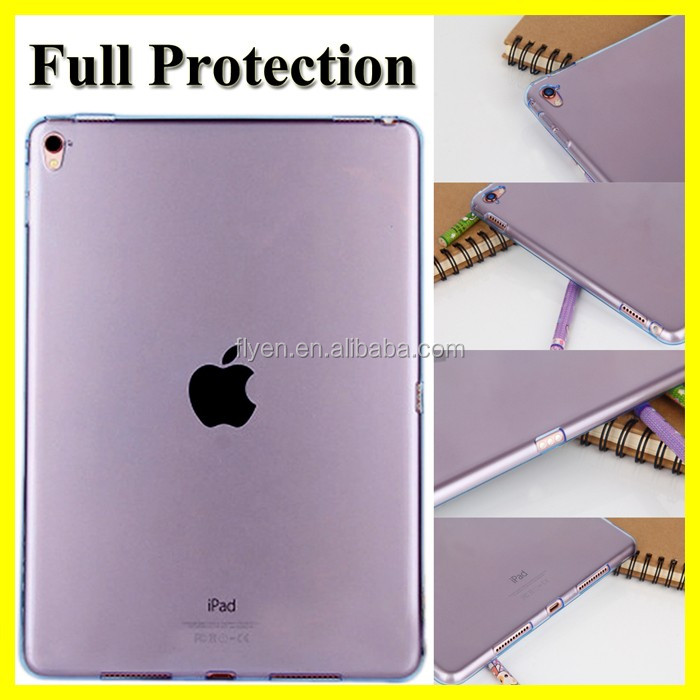 High Quality TPU Back Cover Case for iPad Pro 9.7 Shockproof Ultra Thin Flexible Gel TPU Rubber Case Covers for iPad Tablets NEW