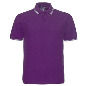 Embroidered Solid color Polo shirts Factory
