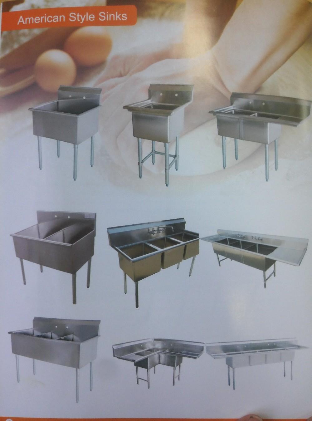 Acero Inoxidable Cocina Restaurante Trabajo Mesa De Preparación Con ...