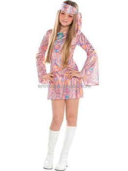 finest selection 35aee 7483e Disco Diva Ragazze Adolescenti 1970 S Vestito Operato 70 S Costume Dei  Bambini Hippy Attrezzatura Dei Capretti Bc17154 - Buy Disco Costume,Bambini  ...