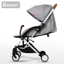 Made In China Baby Strollers Aluminum Alloy Baby Strollers For Europe With Leather Hand Grips