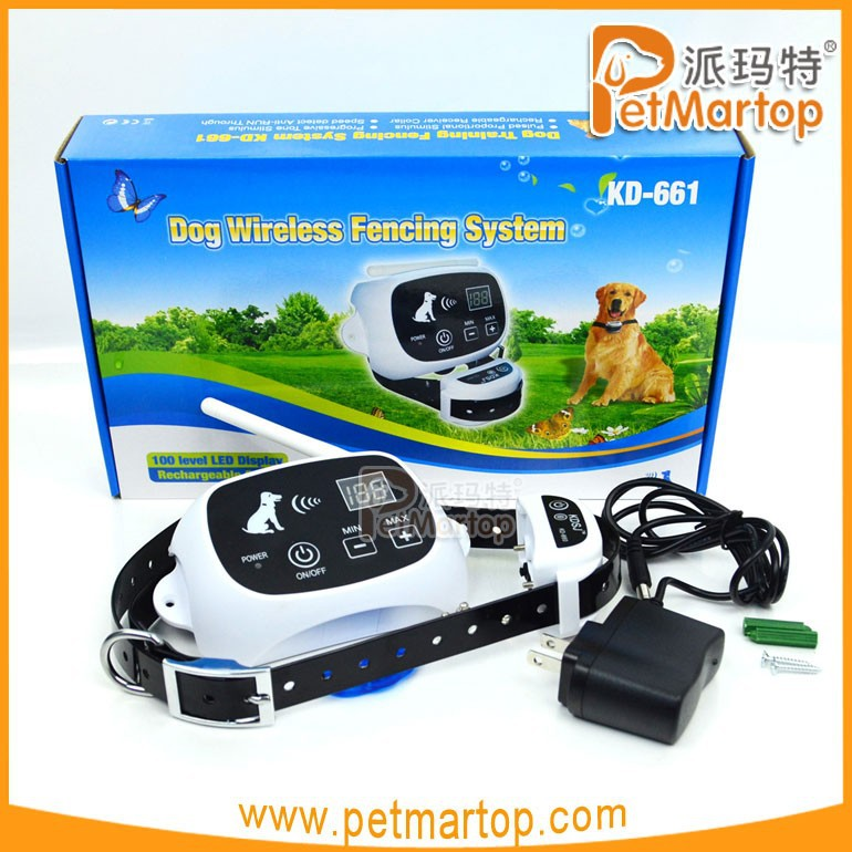 TZ-KD661 new pet products electronic wirless dog fence for dog