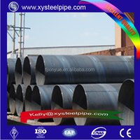 Various Different Size SSAW Welded Spiral Steel Pile Pipe with 3pe Anti-corrosion steel pipe