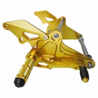 Motorcycle Parts Front Footrest Foot Pegs Set For YAMAHA JUPITER Z