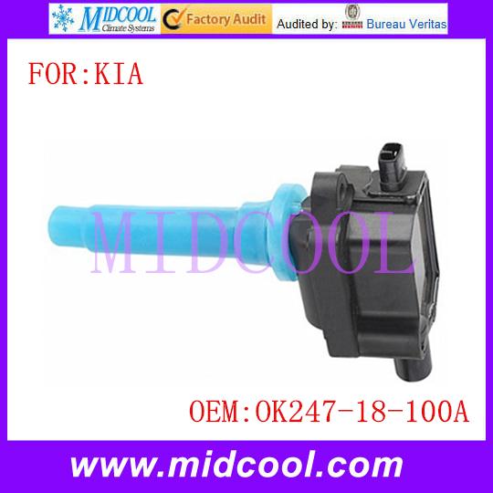 Новый катушка зажигания использования OE no. Ok247-18-100a / OK24718100A для KIA
