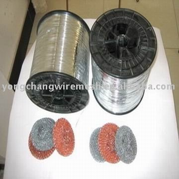 Galvanized Scourer Wire