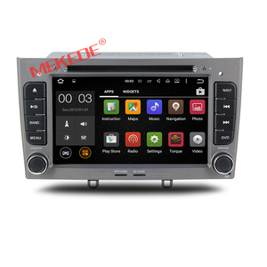 2din Android 7.1 Car DVD GPS Navigation dvd player For Peugeot 308 408 with 4G Auto radio Wifi SD Map