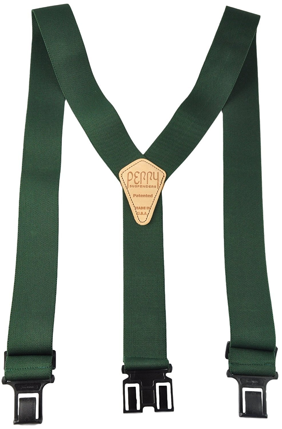 Perry Products SN200 Men's Clip-On 2-in Suspenders(Tall, Hunter)