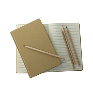 Wholesale Blank Kraft Journals Kraft Paper Covers Notebook