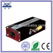RJ45 connector surge protective device for the network card