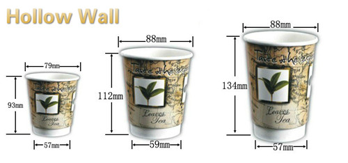 8oz 9oz 10oz 12oz Whole Paper Coffee Cups Vending Cup