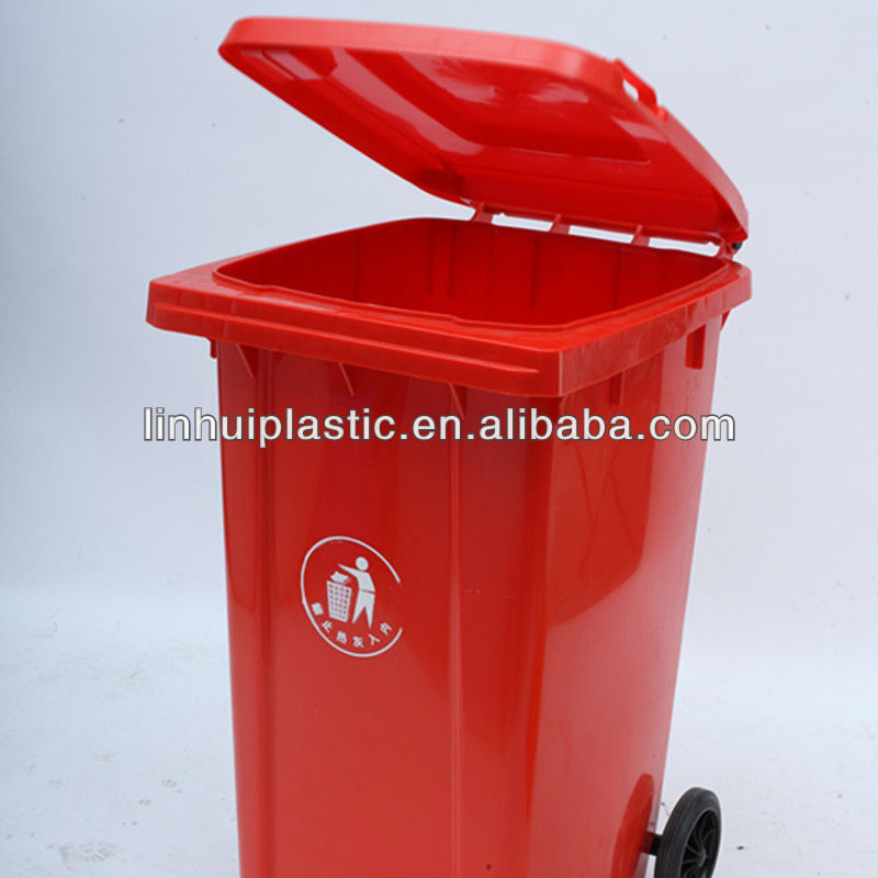 Environmental plastic waste bin PE material good quality