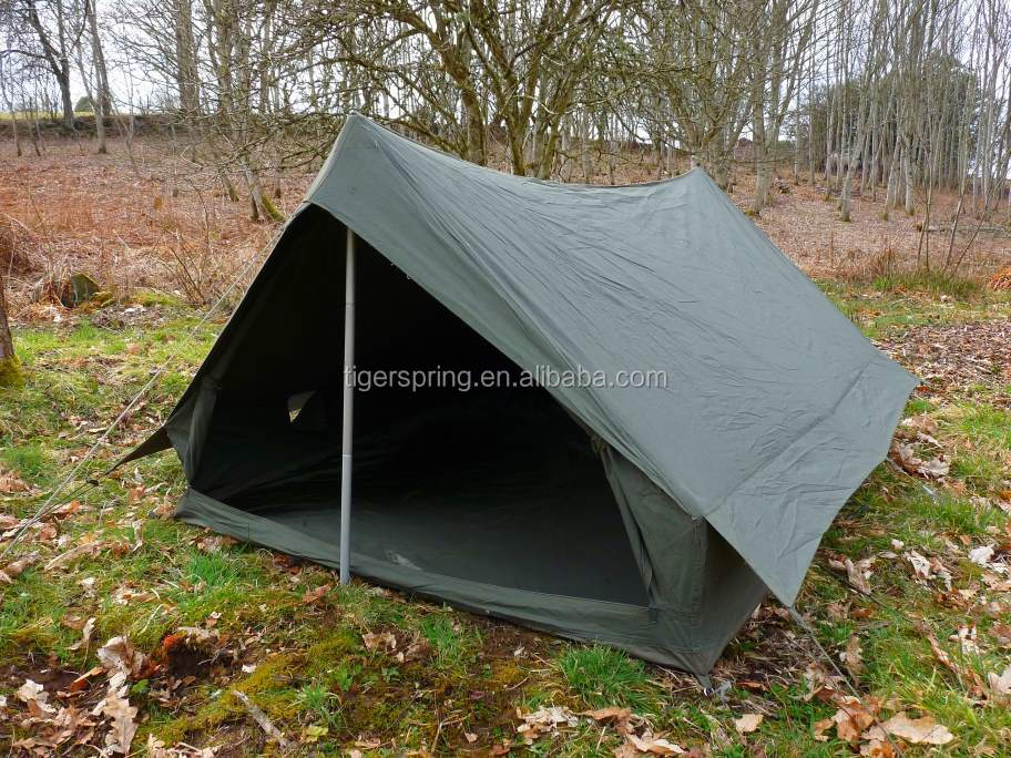 Double layers ridge french military tent : 2 person military tent - memphite.com