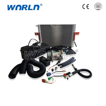 Auto Air Conditioner Parts Oem Ac System Compressor Set Electric Car Conditioning For