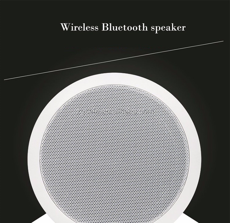 2017 Wholesale 6.5 inch Wireless Active Bluetooth Ceiling Speaker