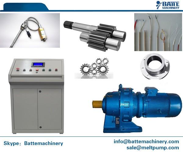 High Pressure Extruder : High temperatures and pressure extrusion melt pump