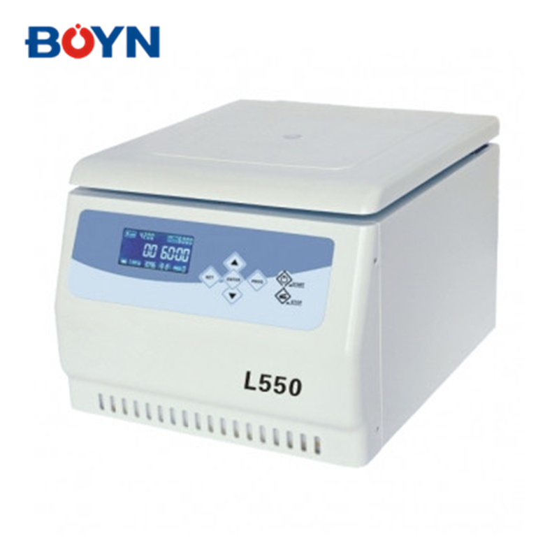 L550 Microprocessor control LCD display Tabletop Low Speed large volume cyto/stem cell centrifuge