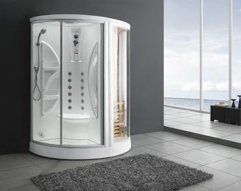 Strip badkamer muur douche tegel open toilet badkamer