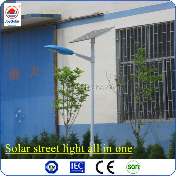 solar street light all in one with TUV , SGS, SONCAP certificate