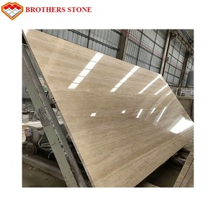 Natural stone tavertine beige marble floor tiles , Beige travertine marble low price,Beige