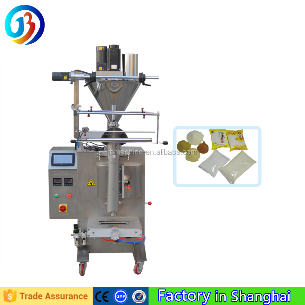 JB-300F Vertical Form Fill Seal spice packaging machine Low price with auger system