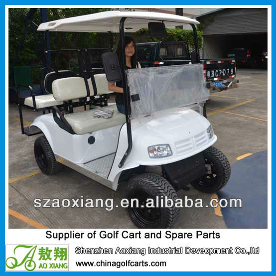 battery operated standard golf cart with one year warranty