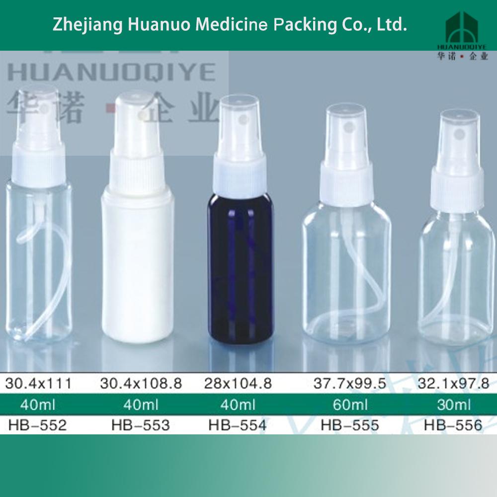 Wholesale empty plastic cosmetic sample sizes spray bottle - Botellas para perfumes ...