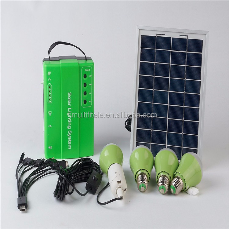 Portable power system Cheaper price off-grid home solar panel systems for solar energy kit