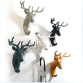 2016 Free shipping European creative home deer wall decoration coathook Blocks