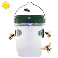 Portable Solar Insect Control Repellent Pest Mosquito Killer Lamp Fly Bee Trap Catcher LED Light
