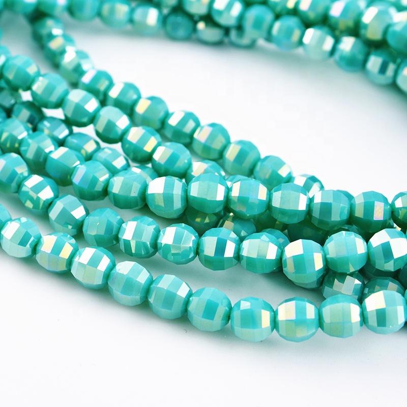 Personnalisé Perles Lanterne En Verre Cristal Scaldfish En Gros Perles Pour Les Bijoux Faits À La Main