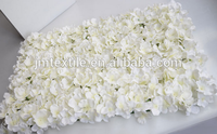 Wholesale hydrangea flower wall wedding wall hanging artificial flowers