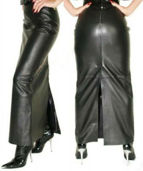 Ladies Leather Long Skirt - Buy Leather Long Skirt Product on ...