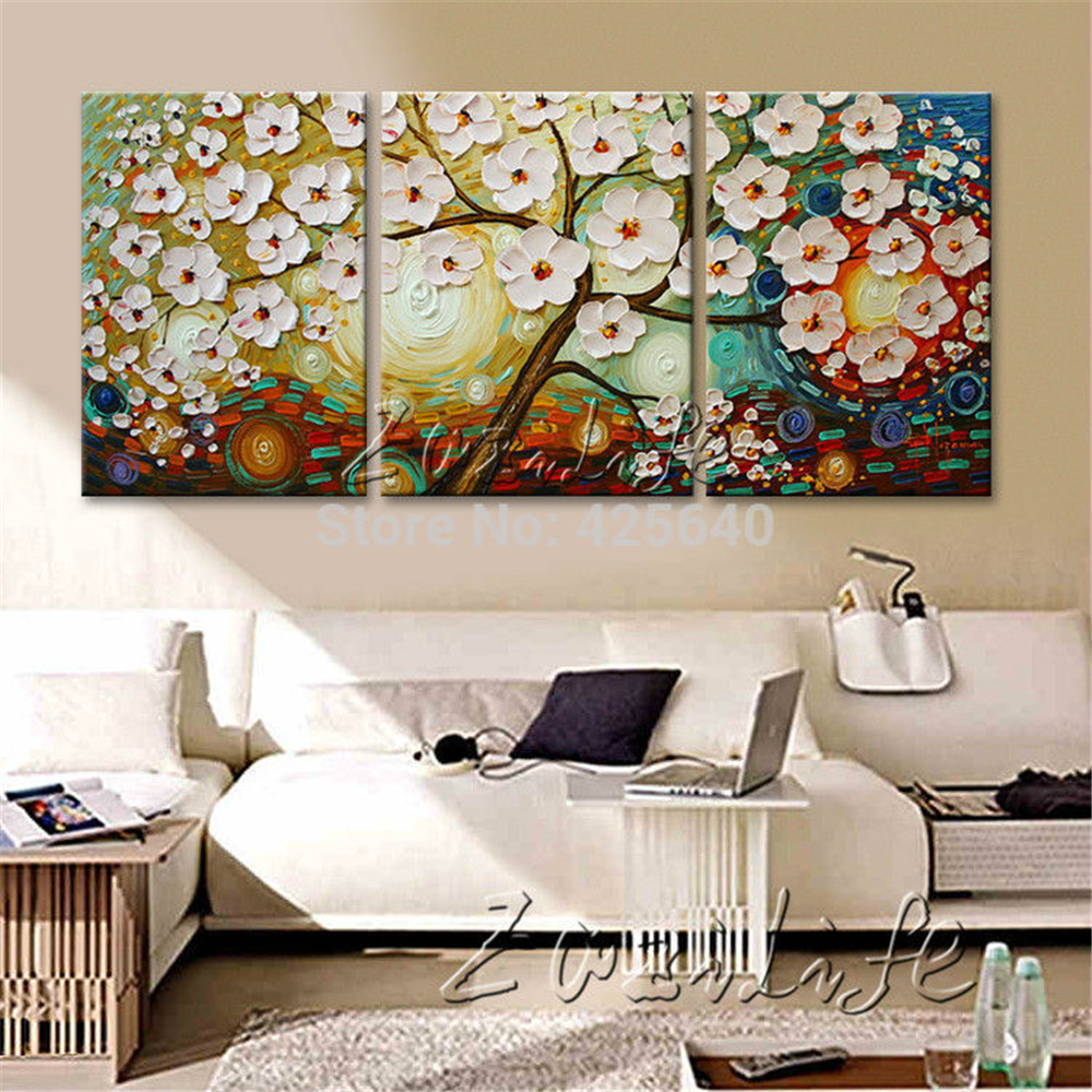 Oil Painting 3 Panel 3 Piece Canvas Cuadros decoracion ...