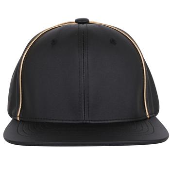Guangjia Cap Manufacturer Wholesale Custom 6 Panel Plain Blank Leather gorras  planas Snapback Hat 43d111aa4e9
