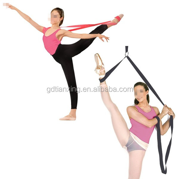 "90"" Dance & Gymnastics Training Leg Stretcher Powerful Ballet Stretch Band"