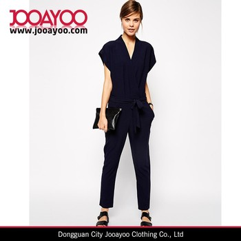 Sexy Black White Fitted V Neck Strapless Pants Jumpsuit Elegant ...