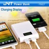 Hot selling 11200mah Mobile power bank with 2 USB outputs LCD display