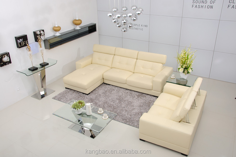 2017 Foshan Furniture Design Leather Sofa Living Room Furniture Set