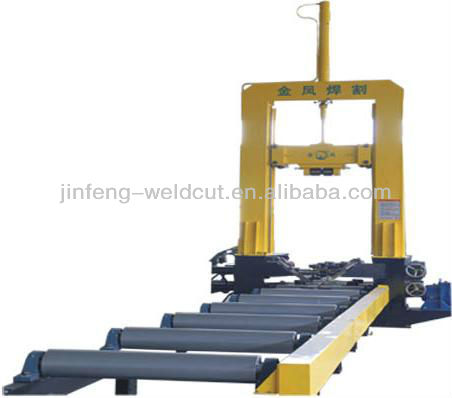 Welded h beam line