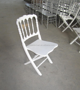 High Quality Foldable Wood Fold Up Napoleon Chairs Wholesale