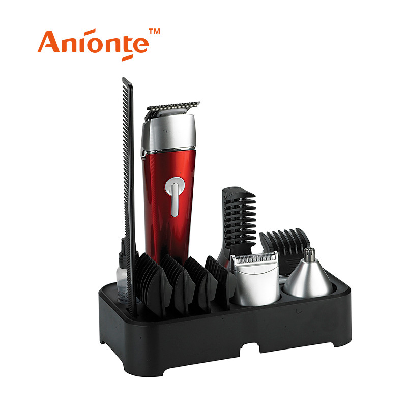 Professional 5 in 1 rechargeable DC motor hair clipper