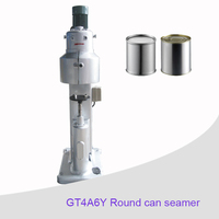 High Quality Semi-automatic paint tin can sealer seamer