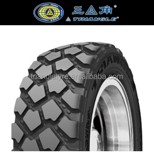 tire distributor imported wholesale Triangle Military Tires Off Road Use 365/70R22.5