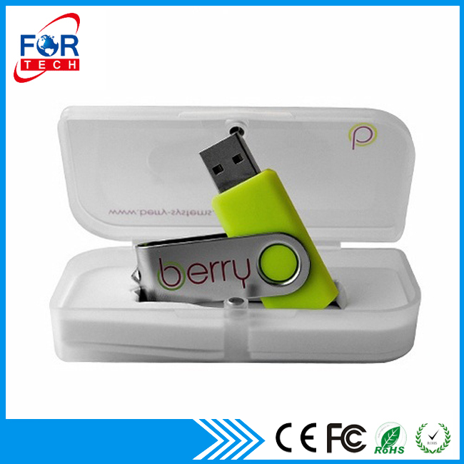 Muestra gratis Chinese Factory Promotional Gift Swivel USB Pen Drives, Swivel USB PenDrives for Corporate Gifts