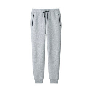Wholesale Custom Plain French Terry Sweat Pants With Elastic and Drawstring