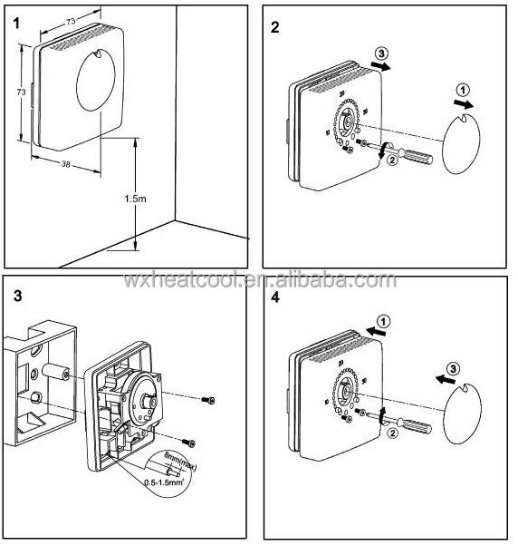 Imit Dual Thermostat Wiring Diagram : Imit thermostat wiring diagram typical