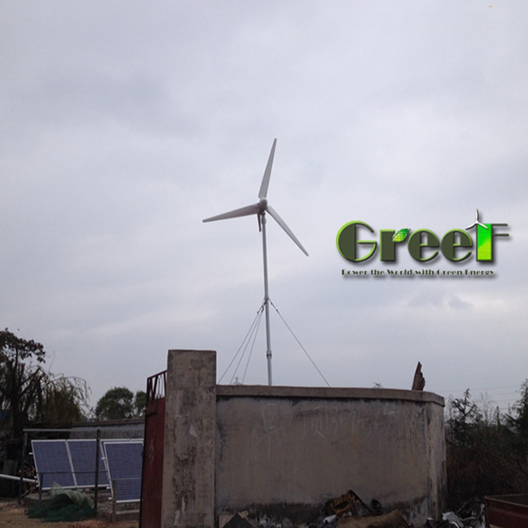 off grid hybrid solar wind power system , 10kw off grid solar system , home wind solar hybrid power system